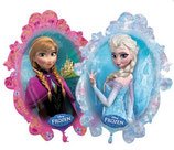 Disney Frozen Die Eiskönigin Supershape 2 seitig bedruckt