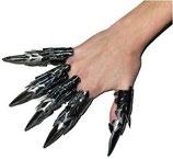 5 x Fingeraufsatz Hexe - Grusel Spaß für Halloween