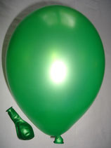 100 Luftballons metallic limone Qualitätsware Ø ca. 27cm B85 (Standardgröße)
