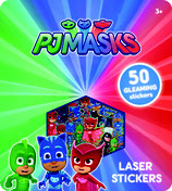 PJ Masks Super Glitter Sticker: 50 glitzernde Sticker, alle Pyjamahelden dabei Gecko, Eulette, Catboy