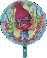 Folienballon Trolls Poppy ca. 45cm heliumgeeignet