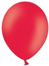 50 Luftballons rot Qualitätsware Ø ca. 27cm B85 (Standardgröße)