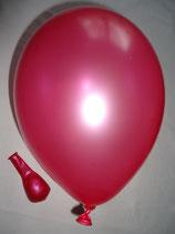 50 Luftballons metallic pink Qualitätsware Ø ca. 27cm B85 (Standardgröße)