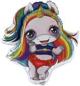 Folienballon Poopsie Rainbow Brightstar