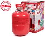 Helium Ballongas Gas Einweg für bis zu 50 Luftballons