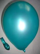 100 Luftballons metallic grün Qualitätsware Ø ca. 27cm B85 (Standardgröße)