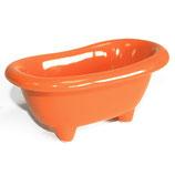 Orange Badewanne