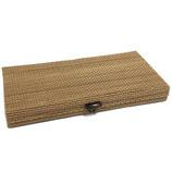 47 flache breite Bambusbox