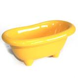 Gelbe Badewanne