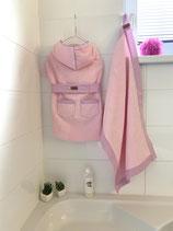 Bademantel rosa