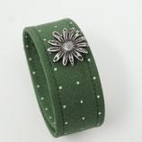 Armband gepunktet grün