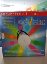 Projecteur leds multi-couleurs
