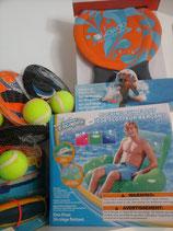 Divers jeux pour piscine et plage