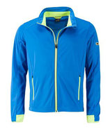 Sports Softshell Jacket (bright-blue/bright-yellow)