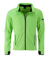 Sports Softshell Jacket (bright green/black)