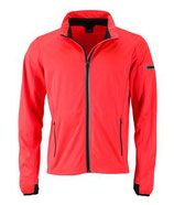 Sports Softshell Jacket (bright-orange/black)
