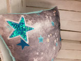 """Kissen """"Star Tourquoise"""""""