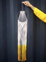 Runder Kurkuma-Wandbehang