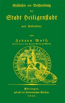 Geschichte und Beschreibung der Stadt Heiligenstadt - REPRINT