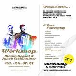 Anmeldung zum Workshop Regnat & Steinkellner