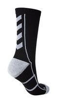 hml tech indoor sock - low - schwarz/weiß