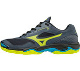 mizuno wave phantom 2 - grau/gelb