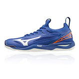 mizuno wave mirage 2.1 - blau/orange (X1GA18-5000)