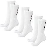 fundamental 3-pack sock - weiß