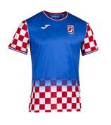 offizielles handball trikot kroatien - blau