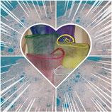Seifensäckchen in verschiedenen Farben