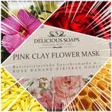 Gesichtsmaske Pink Clay Flower