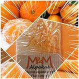 """Alpaka Keratin Seife """"Clementine"""" hergestellt von laRiSavon"""