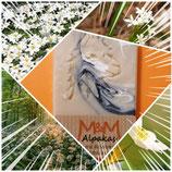 """Alpaka Keratin Seife """"Waldblüten"""" hergestellt von laRiSavon"""