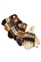 Rustikale Fausthandschuhe für Kinder