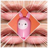 Lippenstift mit Alpakakopf rosé Schimmer