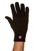 Uni Alpaka Fingerhandschuh gefüttert