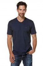 Herren T-Shirt mit Bio Pima-Baumwolle und Alpaka V-Ausschnitt