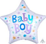 "Folien Ballon 19"" - Baby Boy"