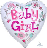 """Folien Ballon 17"""" - Baby Girl"""