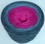 Jeans blau/pink