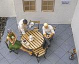 Im Café, 3D-Druckfiguren, 1:45