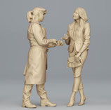 Markt: Sind die auch frisch? (F-584) 3D-Druck-Figuren, unbemalt, 1:45