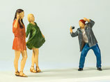 Photo! Hippie-Mädels, 3D-Druck-Set, unbemalt, 1:45