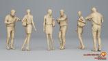 Wie spät ist es denn wohl? 3D-Druck-Figuren-Set, unbemalt, 1:32