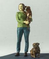 Giesela mit Hunden, Figuren 1:45