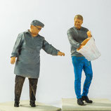 Markt: Alles in die Tüte, 3D-Druck, 2er Set, unbemalt, 1:45