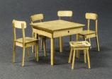 Tisch + Stühle, 1:32