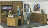 Im Büro, 3D-Druck-Figuren, 1:45
