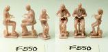 Familie beim Essen, 3D-Druck, 3er Figuren-Set, 1:45
