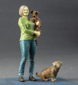 Giesela mit Hunden, Figuren 1:32